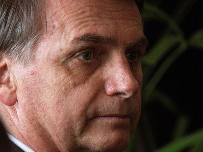 Jair Bolsonaro, em entrevista coletiva, no dia 14 de novembro.