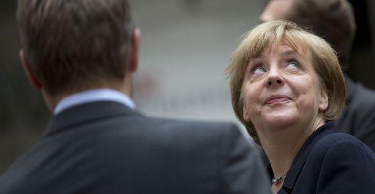 A chanceler Angela Merkel, em Bruxelas nesta terça.