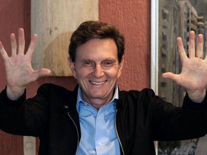 O novo prefeito do Rio, Marcelo Crivella.