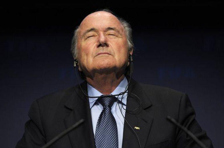 Blatter, hoje em Zurique.