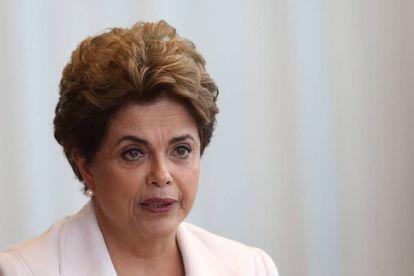 Dilma no Palácio da Alvorada, em agosto de 2016.