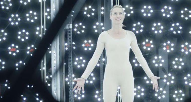 Robin Wright em uma sequência de 'O Congresso Futurista', de Ari Folman.