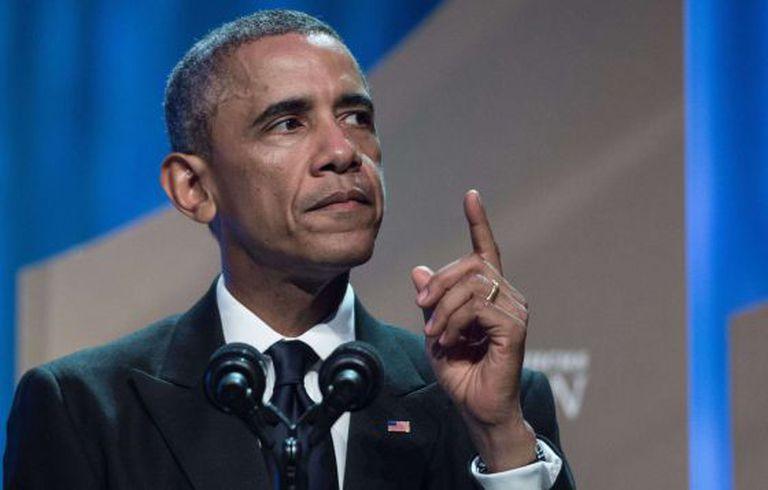 Barack Obama no sábado, em Washington.