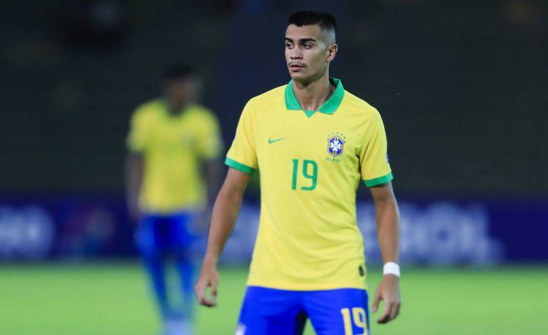 Reinier entrou no segundo tempo da estreia brasileira no Pré-Olímpico.