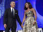 Barack y Michelle Obama en Washington, en 2017.