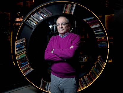 O neurocientista Juan Lerma, no hotel Only You de Madri.