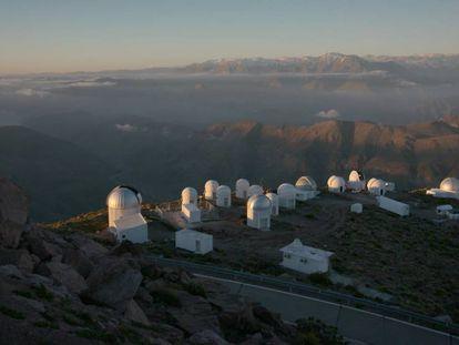 Observatório Interamericano da Colina Tololo (Chile).