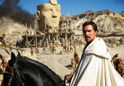 Christian Bale, em 'Êxodo'.