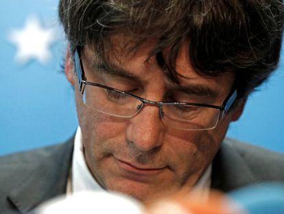 Carles Puigdemont em Bruxelas