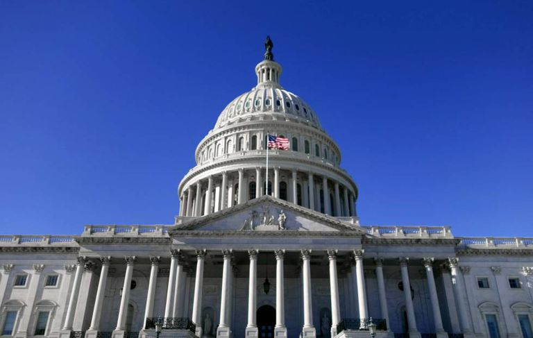 O Capitolio em Washington.