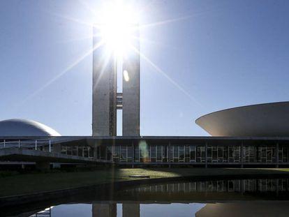 O Congresso Nacional em 1º de fevereiro.
