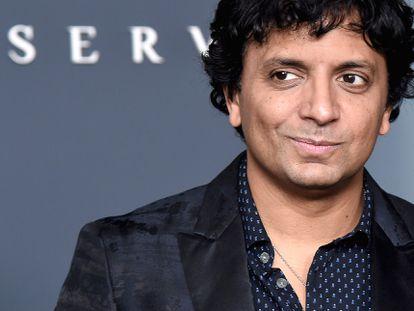 M. Knight Shyamalan em Nova York em 2019 durante a estreia de 'Servant', série que ele produziu para a Apple TV.