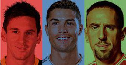Os três candidatos