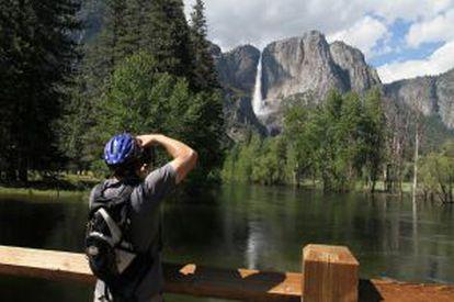 Parque nacional de Yosemite, nos EUA.