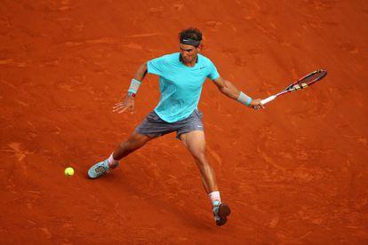 O tenista Rafael Nadal, mais um canhoto famoso
