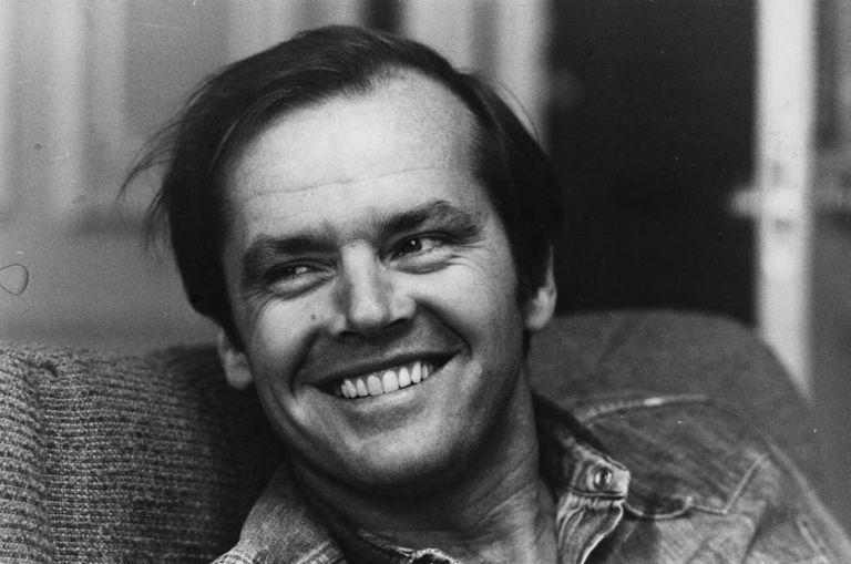 Jack Nicholson fotografado em 1974, no ano em que se desvelou que a que achava que era sua irmã era em realidade sua mãe.