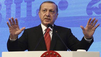O presidente da Turquia, Recep Tayyp Erdogan