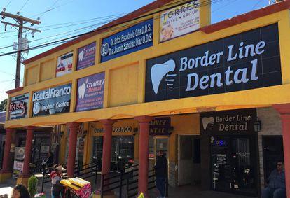 Clínicas odontológicas para turistas em Los Algodones, Baixa Califórnia