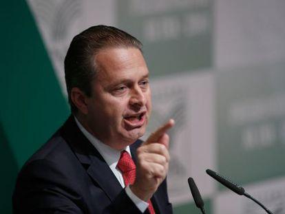 O candidato do PSB ao Planalto, Eduardo Campos.