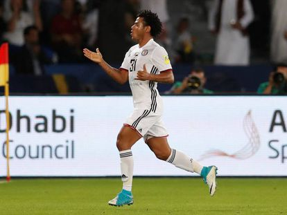 Romarinho deixou sua marca contra o Real Madrid.