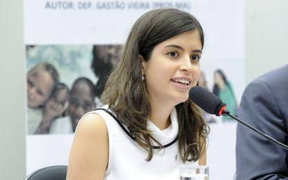 Deputada Tabata Amaral.