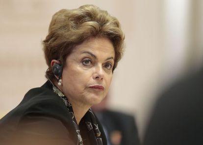 Rousseff durante encontro dos BRICS, na Rússia.