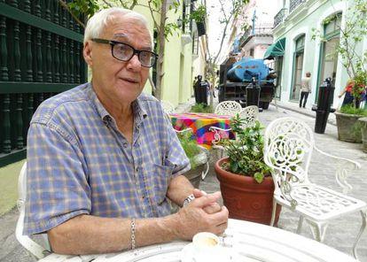 Erasmo Hernández, o 'chef' que cozinhava para Fidel Castro.