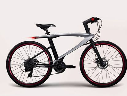 A bicicleta inteligente de LeEco.