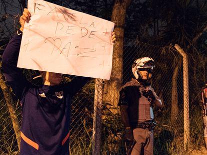 Protesto neste domingo por justiça aos 9 mortos em ação policial em Paraisópolis, na zona sul de São Paulo.