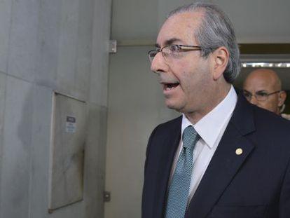 Eduardo Cunha nesta sexta-feira.