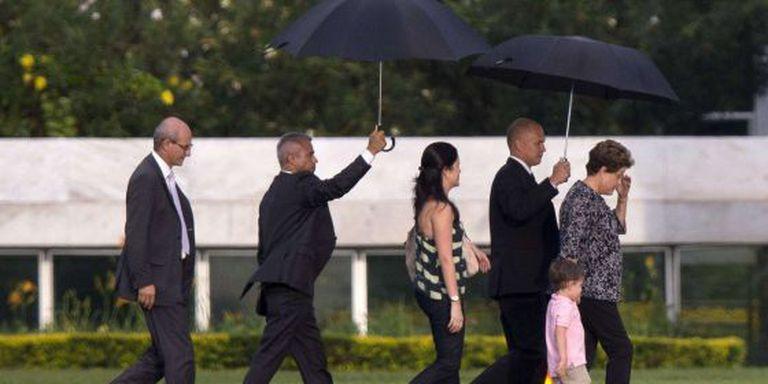 Dilma embarca nesta quarta-feira com a família para descanso na Bahia.