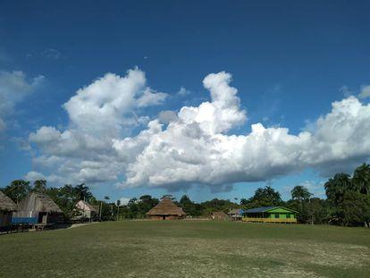 Aldeia São Luís, do povo Kanamari, no Vale do Javari.