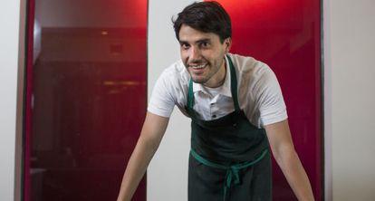 O chef peruano Virgilio Martínez em seu restaurante 'Central' em Miraflores.
