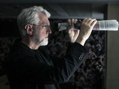 Pedir esmola funciona para um jornal , diz Jeff Jarvis, guru que há anos prega novas ideias sobre o ofício
