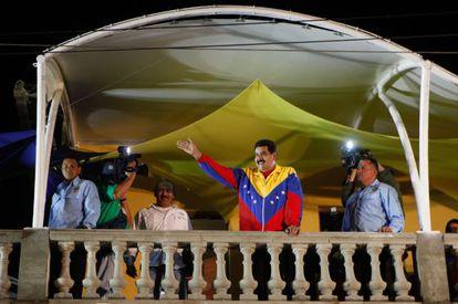 Maduro anunciou na quinta-feira que abortou um suposto golpe de Estado.