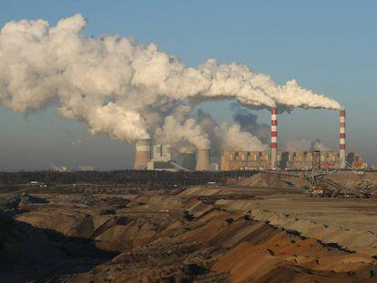 Central térmica de Belchatow, na Polônia.