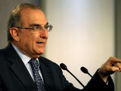 O negociador do Governo, Da Rua, nesta terça-feira em Bogotá.
