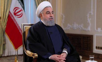 O presidente iraniano Hassan Rohani em janeiro.