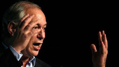 O pré-candidato Ciro Gomes (PDT) no último dia 18.