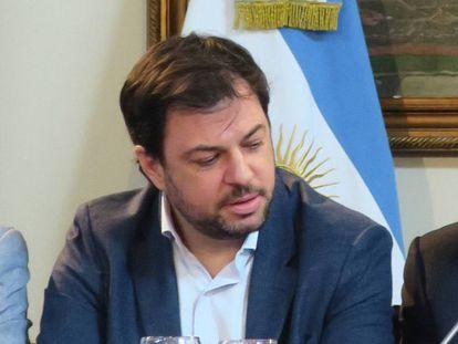 O subsecretário-geral da Presidência da Argentina, Valentín Díaz Gilligan.