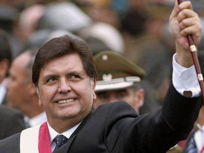 O ex-presidente de Peru Alan García, em 2006.