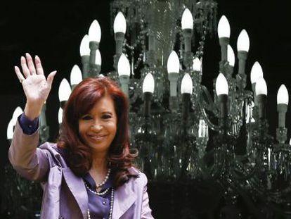 A presidenta da Argentina, Cristina Kirchner.