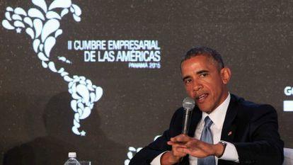 Obama, no II Fórum Empresarial da Cúpula.