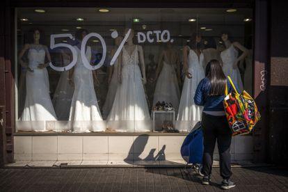 Loja no Chile vende com 50% de desconto.