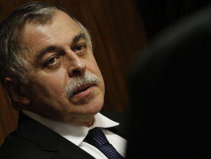 O ex-diretor de abastecimento da Petrobras, Paulo Roberto Costa.