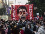 03 July 2021, Brazil, Sao Paulo: Protesters take part in a protest on Paulista avenue against President Jair Bolsonaro's coronavirus policies after the Supreme Court allowed investigations to be opened into Bolsonaro over corruption allegations related to vaccine orders. Photo: Paulo Lopes/ZUMA Wire/dpa 03/07/2021 ONLY FOR USE IN SPAIN