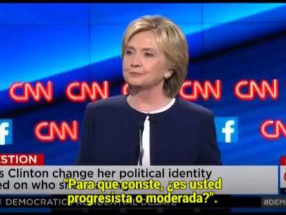 Hillary Clinton sai fortalecida do primeiro debate democrata