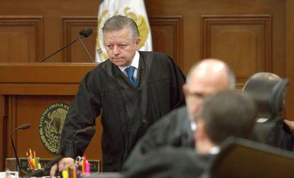 O ministro do Suprema Corte, Arturo Zaldívar.