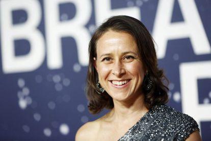 Anne Wojcicki, em uma cerimônia de premiação em novembro na Califórnia.