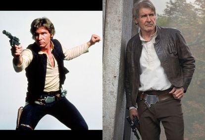 Harrison Ford (1942) é o ator da saga original de Star Wars que mais conseguiu ampliar a carreira. Antes de interpretar Han Solo, já tinha certa experiência em filmes da TV e em pequenas aparições em filmes cult como Loucuras de Verão (1973) e A Conversação (1974). O sucesso da trilogia galáctica cruzou com o de Indiana Jones nos anos oitenta. No caminho rumo a O Despertar da Força, participou de mais de dez títulos memoráveis como Blade Runner (1982), A Testemunha (1985, com a qual obteve sua única nomeação ao Oscar), Uma Secretária de Futuro (1988), Jogos Patrióticos (1992) e O Fugitivo (1993). Também é esperado no retorno de Blade Runner, previsto para 2016 ou 2017.